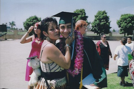 Becky's Story Inside InCarceration-    Becky and Joe at his High School Graduation.