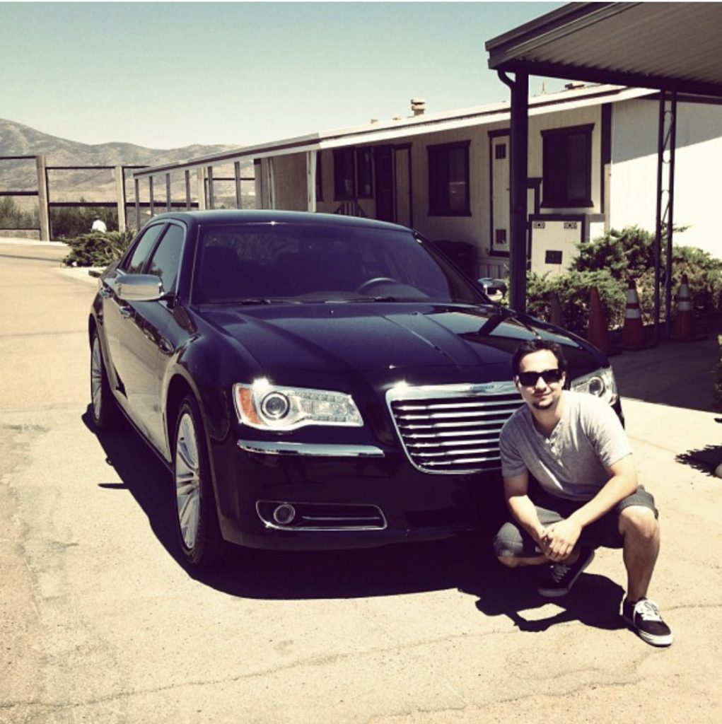 The photo that started it all. Joe and his new car. Becky's Story Inside Incarceration (Pt. 2)